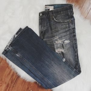 Men's Gap Bootcut distressed jeans 30/32